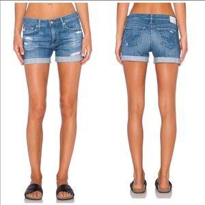 AG The Hailey Ex Boyfriend Roll Up Shorts Size 25